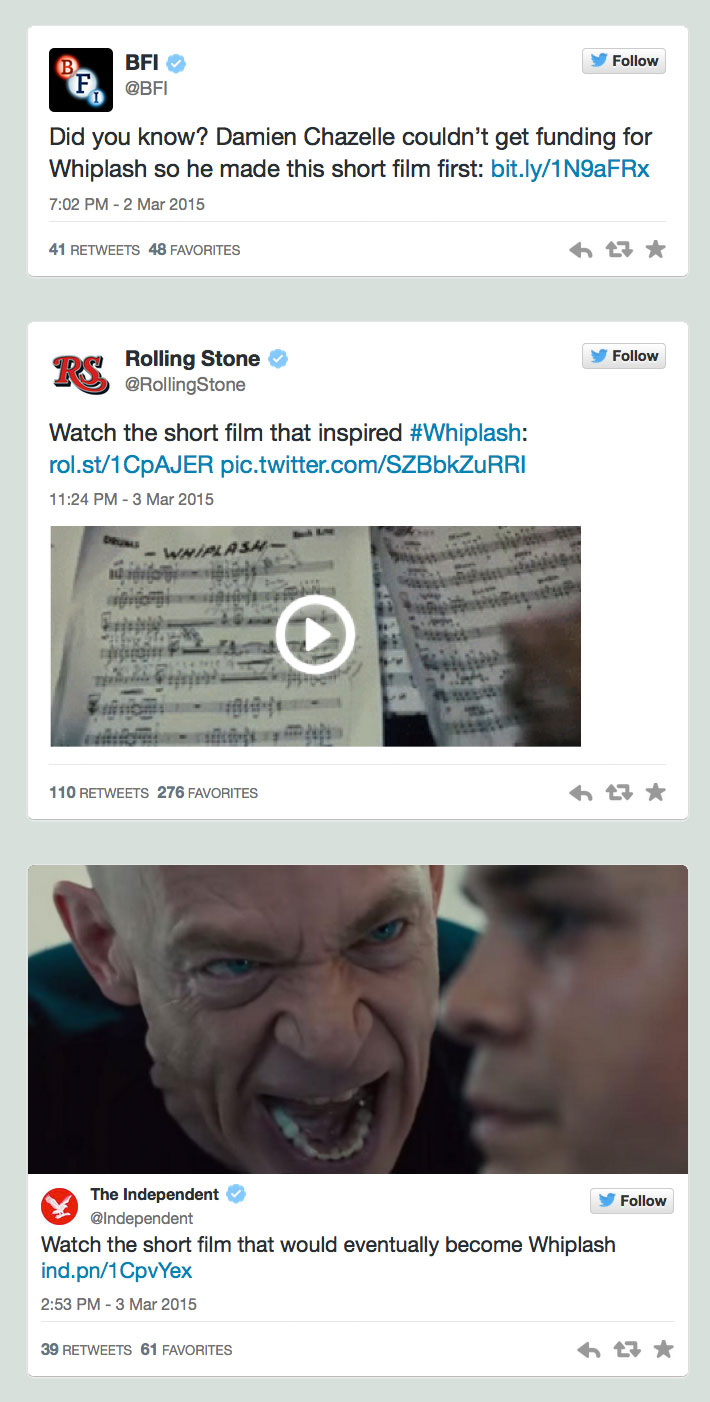 Whiplash-short-film-tweets