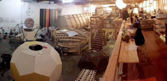 A view of Prospect's production design warehouse.