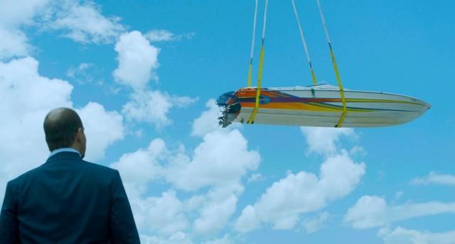 Mel Rodriguez appears in Omniboat: A Fast Boat Fantasia