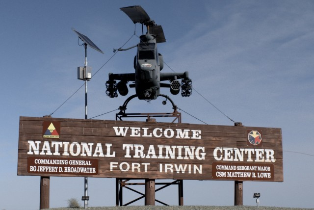 Fort Irwin - the film's title - comes from the training center where story is told